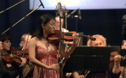 """Qian Zhou на """"Острове классики"""" 2014г."""