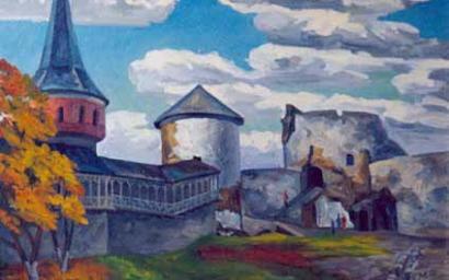 крепостной дворик